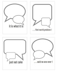 bubble quotes